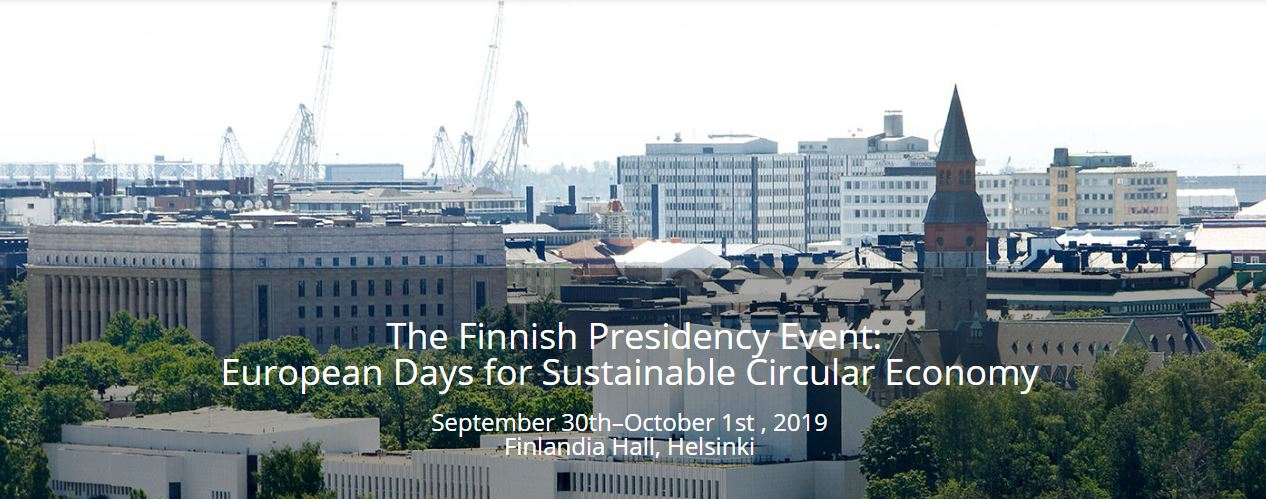 European Days for Sustainable Circular Economy @ Helsinki, Finland