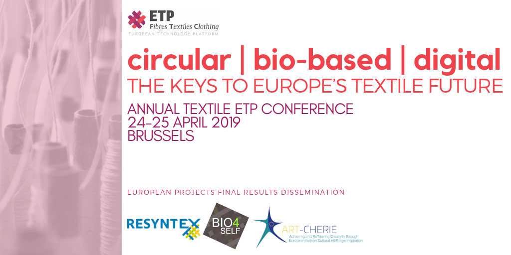 Annual Textile ETP Conference @ Brussels, Belgium