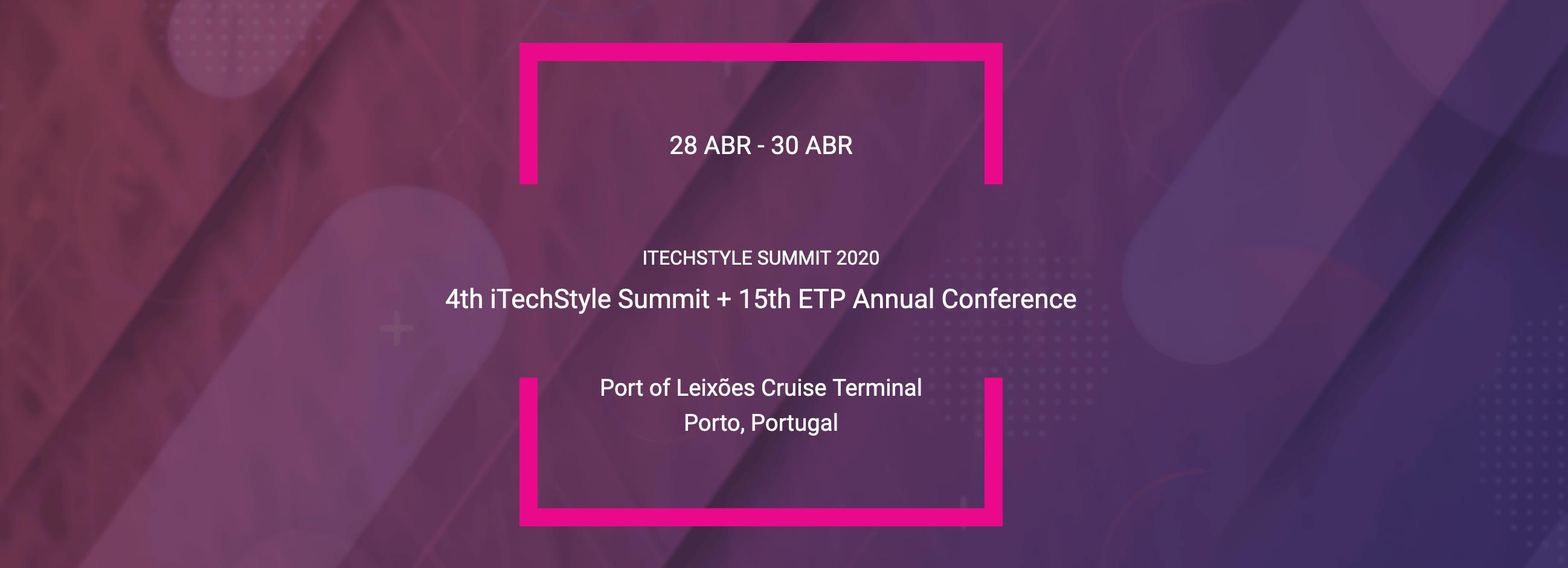 Annual Textile ETP Conference @ Porto, Portugal