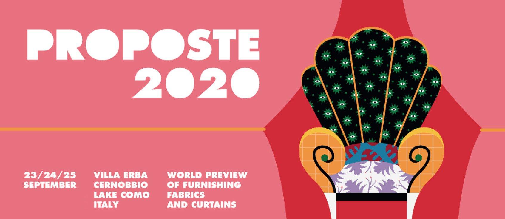 Proposte Fair 2020 @ Villa Erba, Cernobbio, Italy