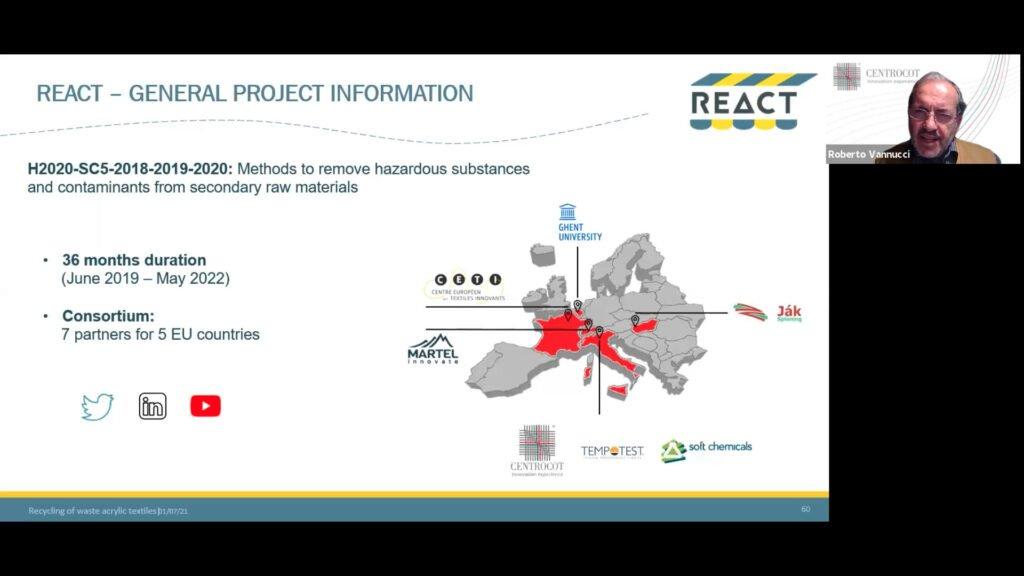 roberto vannucci presenting react